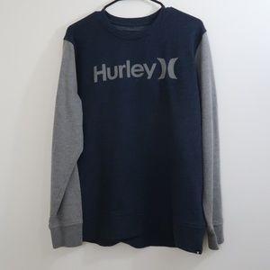 Hurley Sweatshirt T-shirt Style Crew Neck L